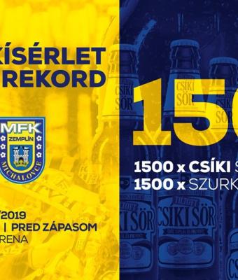 Pivo Csíki sör zdarma pre 1500 dobrovoľníkov!