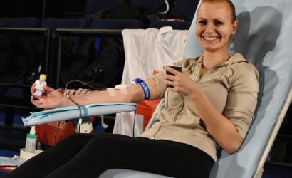 Nových dvadsať darcov krvi