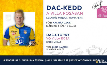 DAC-utorky vo Villa Rosa!