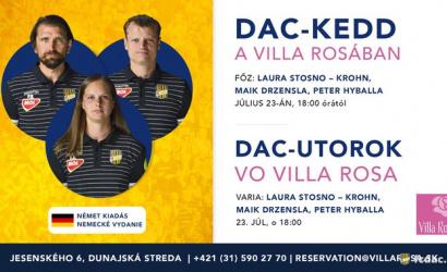 Ďalší DAC-utorok vo Villa Rosa: tentoraz nemecké chute!
