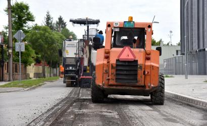 Modernizácia Športovej ulice do 24. júna