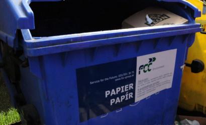 Od 1. júla odvoz papierového odpadu