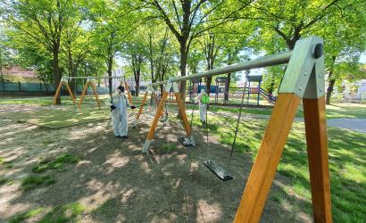 Dezinfekcia detských ihrísk