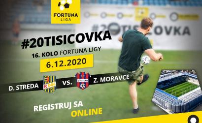 V nedeľu opäť hra o 20 tisíc eur!