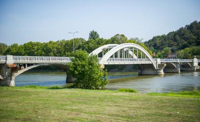 Župa pokračuje v modernizácii Krajinského mosta v Piešťanoch