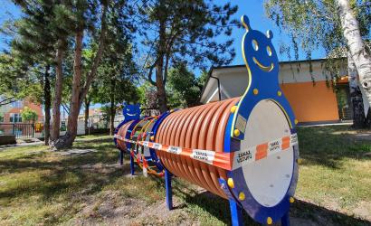 Za 40 tisíc eur vynovili detské ihriská materských škôl