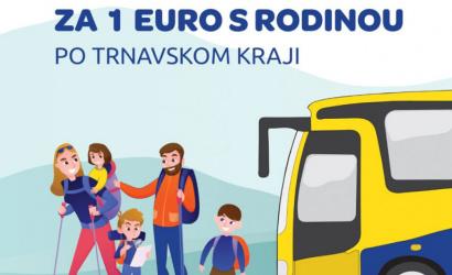 Leto v trnavskej župe: rodiny s deťmi budú môcť cestovať autobusom za 1€