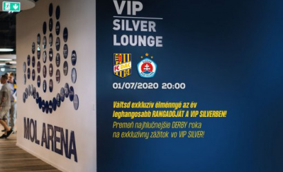 VIP Silver menu na derby DAC-Slovan
