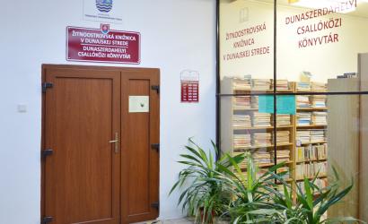 Žitnoostrovská knižnica v Dunajskej Strede znovu otvára