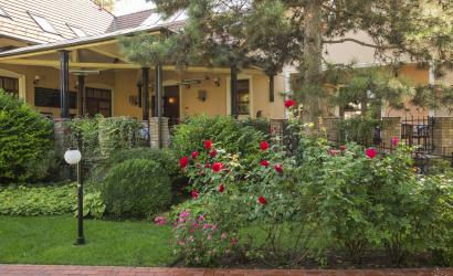 Čoskoro na terase Villa Rosa
