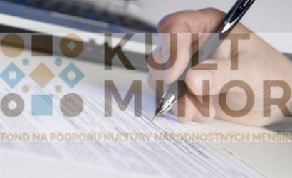 Fond na podporu kultúry národnostných menšín zverejnil prvú výzvu