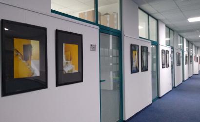 Výstava výtvarných diel Rudolfa Rypáka a Vernera Scheibenreifa v priestoroch Úradu TTSKa
