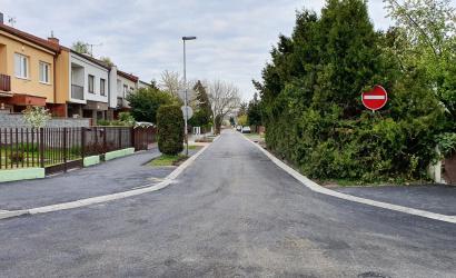 Skončila sa rekonštrukcia ulice Mikszátha Kálmána