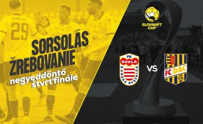 Slovnaft Cup: vo štvrťfinále proti Banskej Bystrici