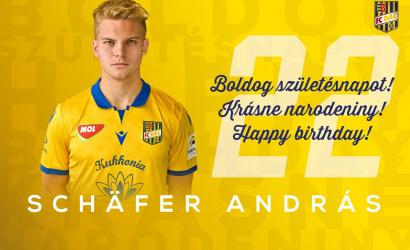 Narodeniny: András Schäfer má dnes 22!