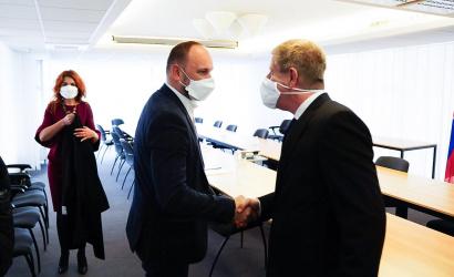 J. Viskupič: Novému ministrovi zdravotníctva som predstavil požiadavky krajov