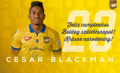 Narodeniny: Cesar Blackman má dnes 23!