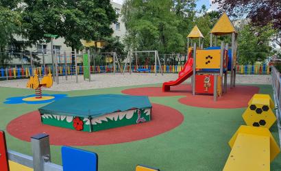 V piatok ráno budú odovzdávať nové Lidl detské ihrisko na sídlisku Boriny