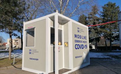 Trnavská župa zriadila mobilné odberové miesto v Trnave