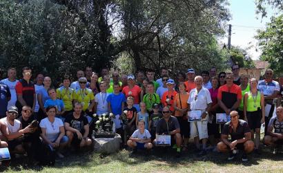 Po štvrtýkrát si cyklistickou túrou pripomenuli pamiatku Zsófi