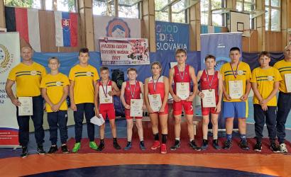 Päť majstrovských titulov zo slovenských majstrovstiev dorastu vo voľnom štýle!