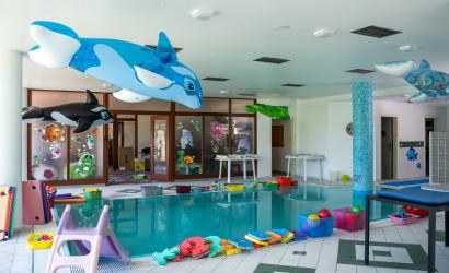 Nové plavecké centrum v hoteli Legend