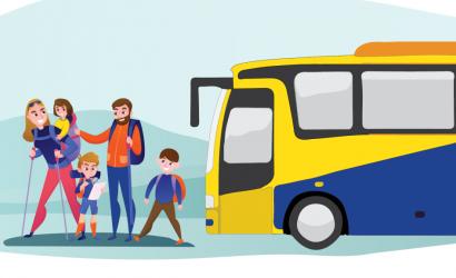 Rodiny s deťmi cestujú prímestskými autobusmi len za 1 euro