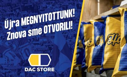 DAC store opäť otvorený!