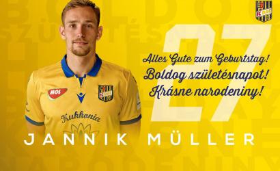 Narodeniny: Jannik Müller má dnes 27!