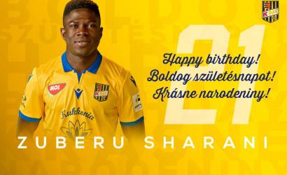 Narodeniny: Zuberu Sharani má dnes 21!