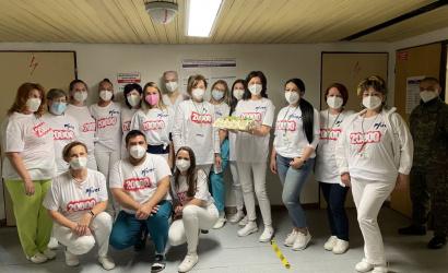 Dunajskostredská nemocnica podala 20-tisícu dávku vakcíny