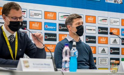Tlačová konferencia po zápase Slovan-DAC (0:1)