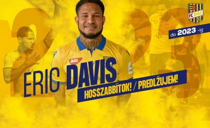 Eric Davis predĺžil zmluvu