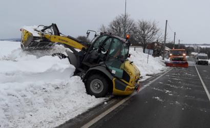 TTSK: Zimná údržba ciest bola najefektívnejšia za posledných päť rokov