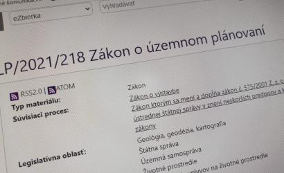 SK 8 vznieslo pripomienky k zákonu o územnom plánovaní
