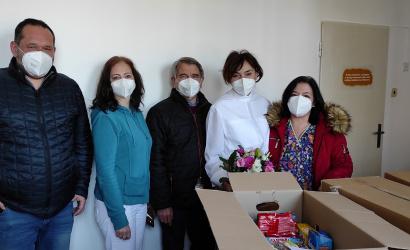 Poďakovanie nemocničnému personálu od Občianskeho združenia Malé Blahovo