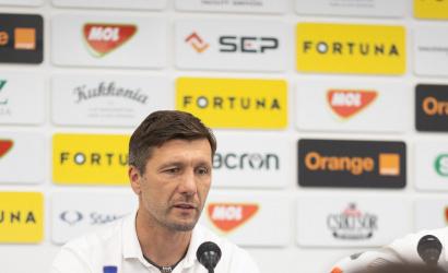 Tlačová konferencia po zápase DAC-Slovan (1:1)