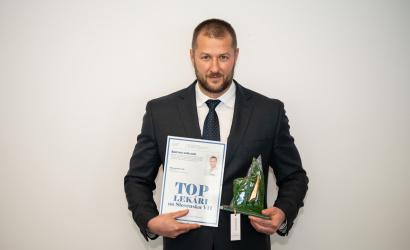 MUDr. Jozef Almási sa stal TOP lekárom na Slovensku