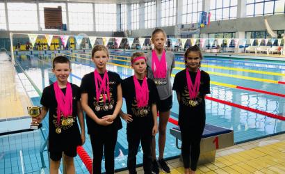 Plavecké preteky Orca children cup