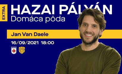 Záznam relácie Domáca pôda EXTRA s Janom Van Daelem