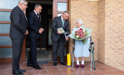 "Včera mala sto rokov Fodor Erzsébet, ""Fodor mama"""