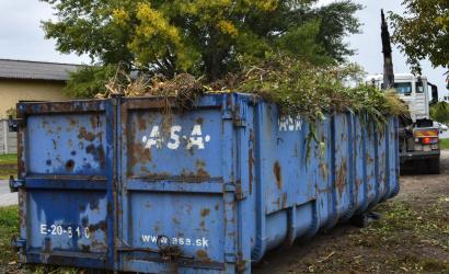 V sobotu bude zber zeleného odpadu zo záhradiek