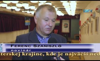 Embedded thumbnail for Ferenc Szaniszló zaoberal osudovými otázkami maďarstva