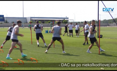 Embedded thumbnail for Futbalové mužstvo DAC začalo prípravu na Fortuna ligu