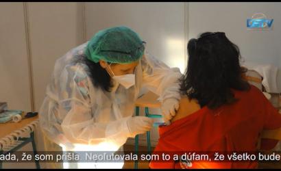 Embedded thumbnail for Župa prevádzkuje veľkokapacitné očkovacie centrum aj v Dunajskej Strede