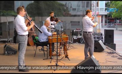 Embedded thumbnail for Začala sa séria letných koncertov pred MsKS