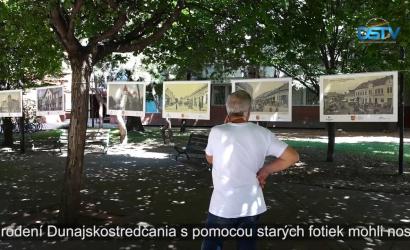 Embedded thumbnail for Exteriérová výstava predstavuje Dunajskú Stredu súčasnosti iminulosti