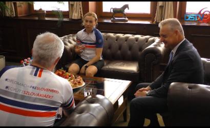 Embedded thumbnail for Minister zahraničných vecí absolvoval cyklistickú túru po južnom Slovensku
