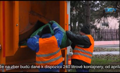 Embedded thumbnail for Skončil zber vriec so zeleným odpadom