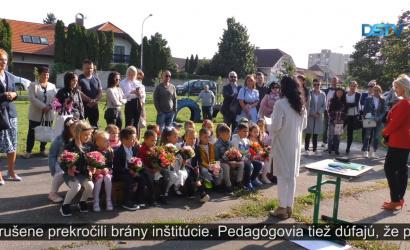 Embedded thumbnail for Nový školský rok sočakávaniami a s určitými obavami